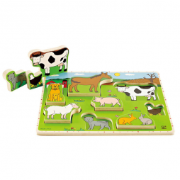 Farm Animals Stand Up Puzzle E1450