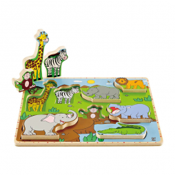 Wild Animals Stand Up Puzzle E1451