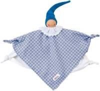 Organic Towel Doll blue 0173708