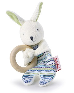 Bunny Buddy Wooden Grabbing Toy 0174461