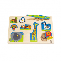 Wild Animals Peg Puzzle E1403