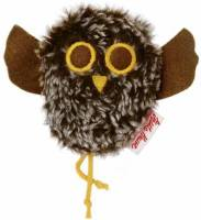 Miracle Forest Shaking Owl Plush brown 0191357