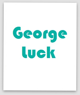 Hape George Luck